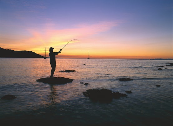 Fishing on Magnetic Island